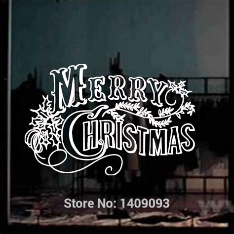 vinyl window clings christmas 1 wall decal