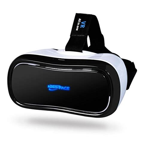 Vr Headset Pc bestface 3d vr all in one reality headset wifi 2 4g bluetooth 1080p 360 viewing