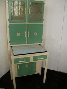 1950 39 s vintage kitchen larder cupboard cabinet chalk paint on pinterest larder cupboard 1950s kitchen
