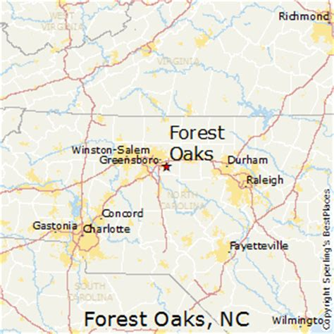 forest carolina map best places to live in forest oaks carolina