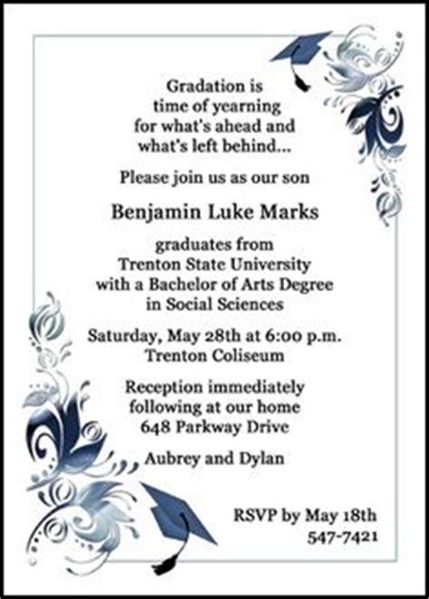 Graduation Ceremony Invitation Card