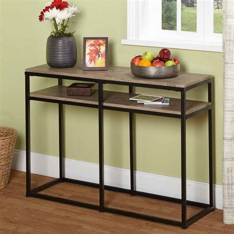 mercer coffee table walmart international concepts ot 60s java console or sofa table