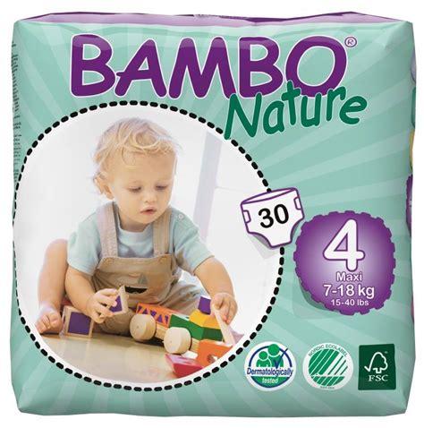 bambo nature bambo nature luier maat 4 maxi voor kindje 9 tot 18