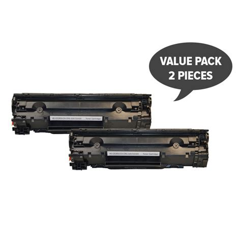 Toner Printer Hp 85a hp printer 2 x ce285a 85a cart325 black generic toner