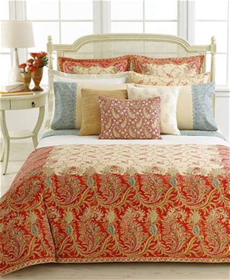 Ralph Comforter King by Closeout Ralph Home Mirabeau Paisley King
