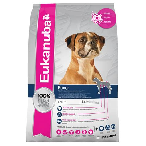 boxer food buy eukanuba food for boxer with chicken 12kg