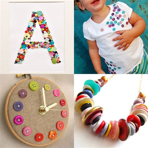 craft projects with buttons crafts you can do with buttons frugal family fair