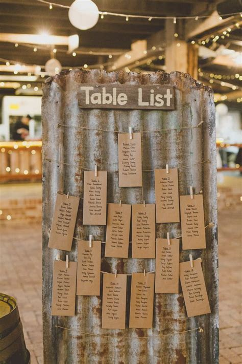 rustic themed wedding seating plan belgenny farm wedding seating charts kraft paper and