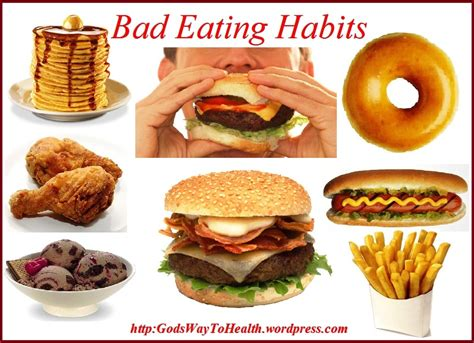 bad food unhealthy what not to eat lessons tes teach