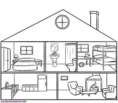 Painting Home Interior house parts clipart 44