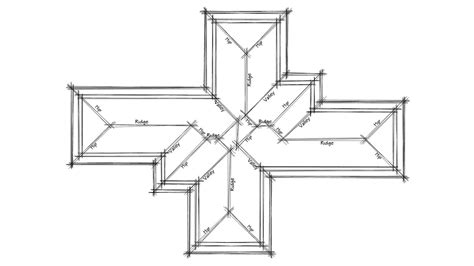 basic easy how to draw a roof plan in autocad tutorial