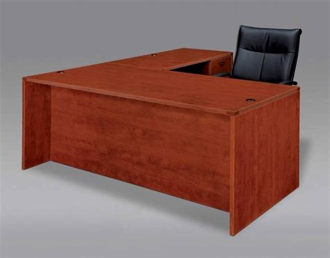 solid l shaped desk 15 inspirations of solid wood office desk