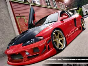Mitsubishi Eclipse Gsx Kits 40 Totally Car Graphics Before And After
