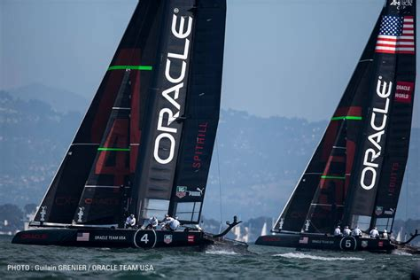 oracle racing boat america s cup oracle s illegal boats yachting world