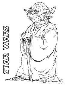 wars coloring page wars character yoda coloring pages barriee