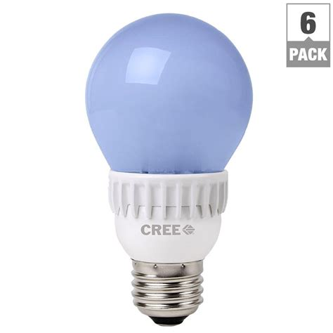 Cree Dimmable Led Light Bulbs Cree Tw Series 40w Equivalent Soft White A19 Dimmable Led Light Bulb 6 Pack Ba19 04527omn