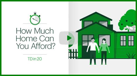 buying a house from a trust how much mortgage can i afford td canada trust