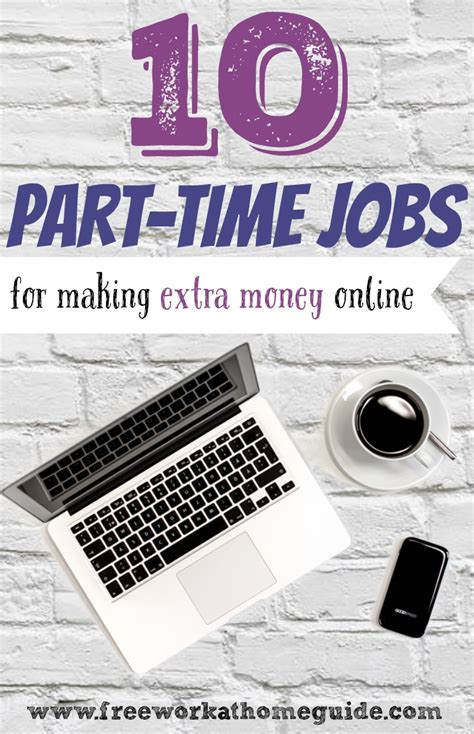 Online Jobs To Make Extra Money - 10 great part time online jobs for earning extra money at home