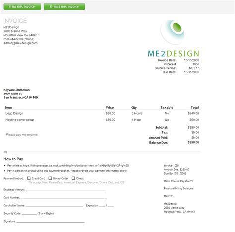 professional invoices template document specialist