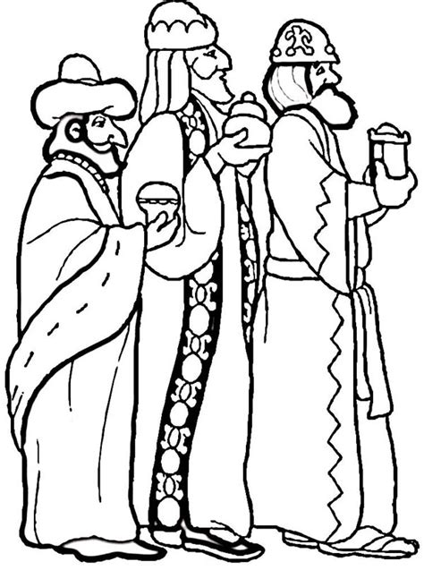 three kings day coloring pages coloring pages