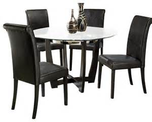 homelegance 48 inch dining table with glass