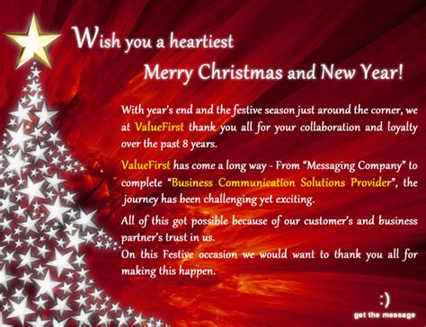 greetings for christmas and new year messages ideas