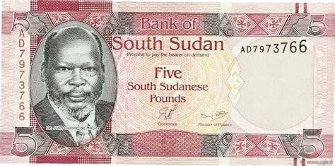 Sudan Selatan 5 Pounds 2011 Unc 5 pounds south sudan 2011 p 06 b97 2369 banknotes