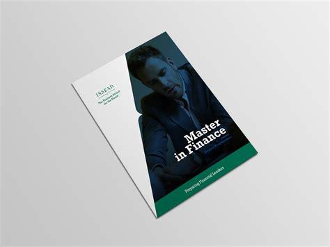 Insead Mba Brochure by Insead Business School Brochure Adventure Concept On Behance