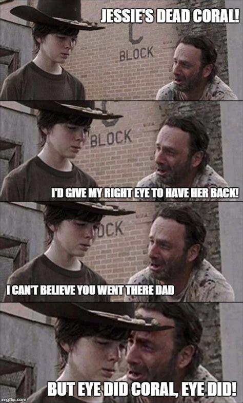The Walking Dead Coral Meme