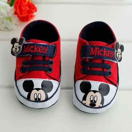 Booked Hello Shoes by Baby Rifqi Store Pre Walker Shoes Mickey Minnie