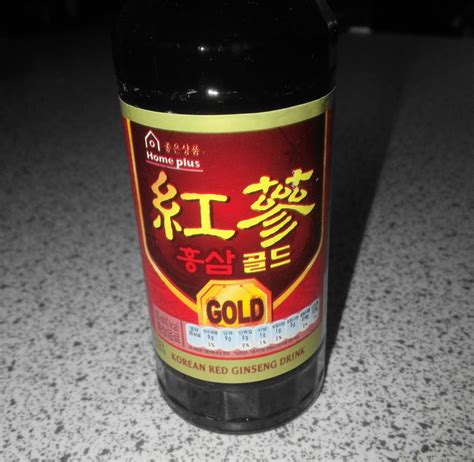 Ginseng Korea ginseng gold korean health drink homeplus version