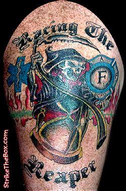 ems firefighter tattoos tattoos  artcom