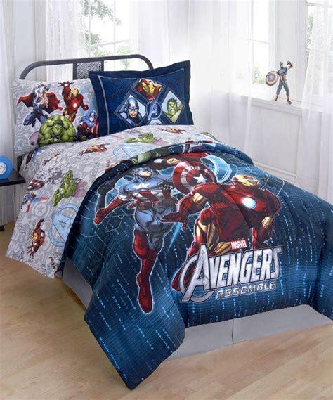 avengers bed set avengers assemble comforter set