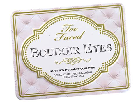 sexy bedroom names too faced boudoir eyes soft sexy eye shadow collection review swatches