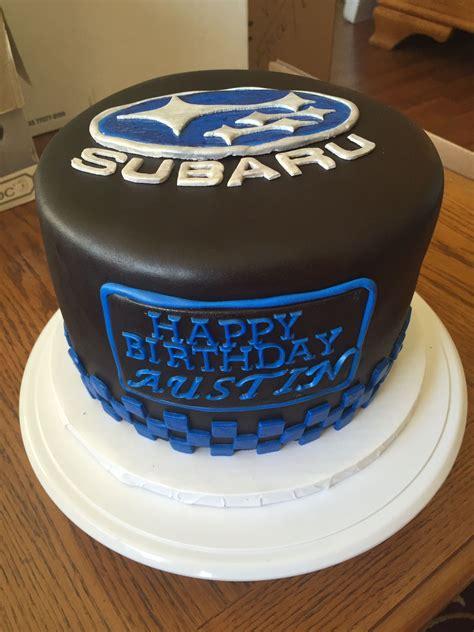 subaru cake cars birthday cake cake cake decorating