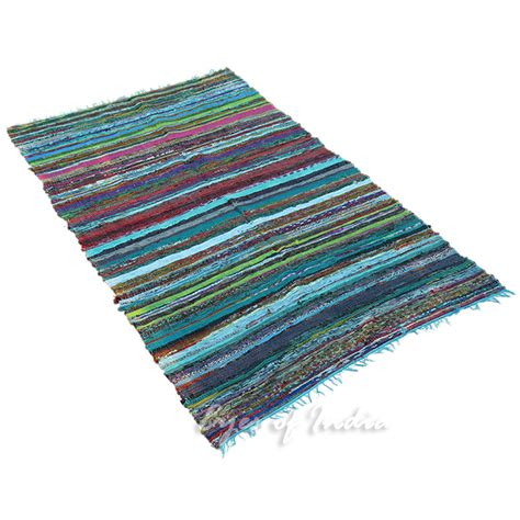 3 By 5 Rug by 5 5 X 3 5 Ft Chindi Rag Rug Floor Mat Carpet Woven