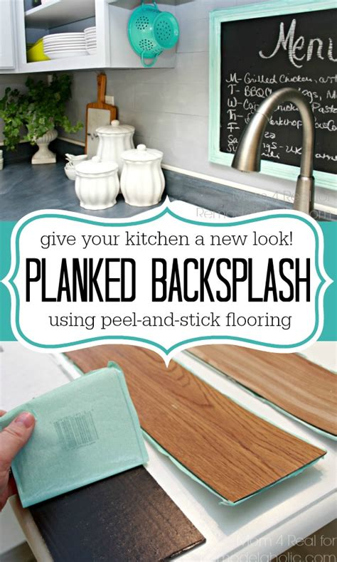 Give Your Kitchen A Whole New Look Use Peel And Stick