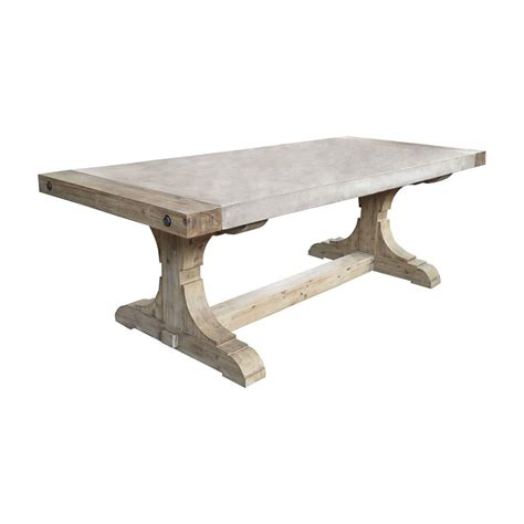 Dining Room Table Seats 8 by Titan Lighting Pirate Waxed Atlantic Dining Table Tn