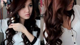 best way to create soft waves in shoulder length hair soft romantic curls hair tutorial youtube