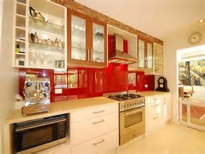 line kitchen designs modern single line kitchen design using stainless steel kitchen photo 1542310