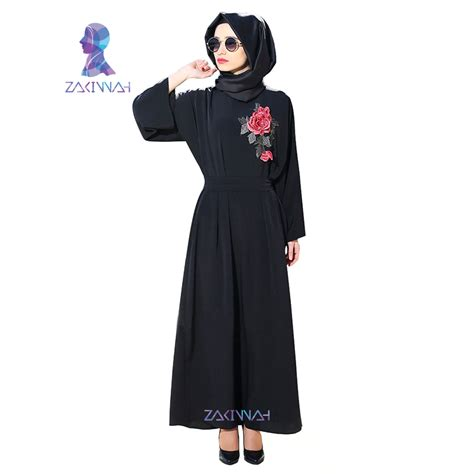 Numara Maxy Dress Mouslim Modis Gamis Islam new sleeve black dubai muslim dress maxi abaya
