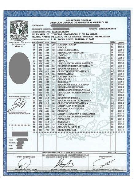 Certificado De Preparatoria Certificado De Preparatoria | 187 certificado de preparatoria unam
