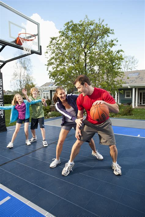 sports you can play in your backyard selecting a safe sport surface for your family sport court