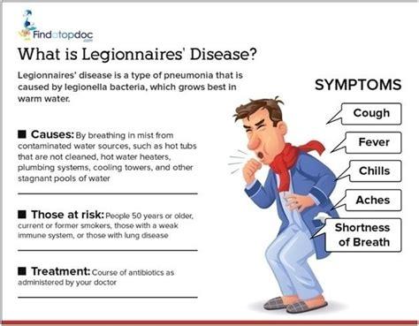 pontiac fever symptoms legionnaires disease symptoms causes treatment and