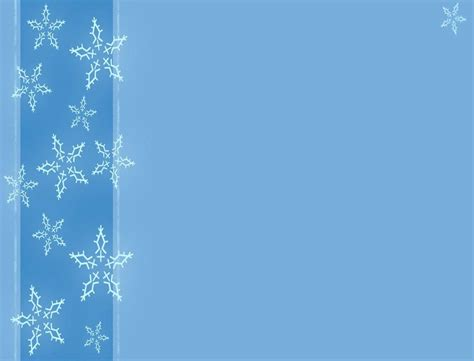 Free Winter Backgrounds Wallpaper Cave Snowflake Powerpoint Template