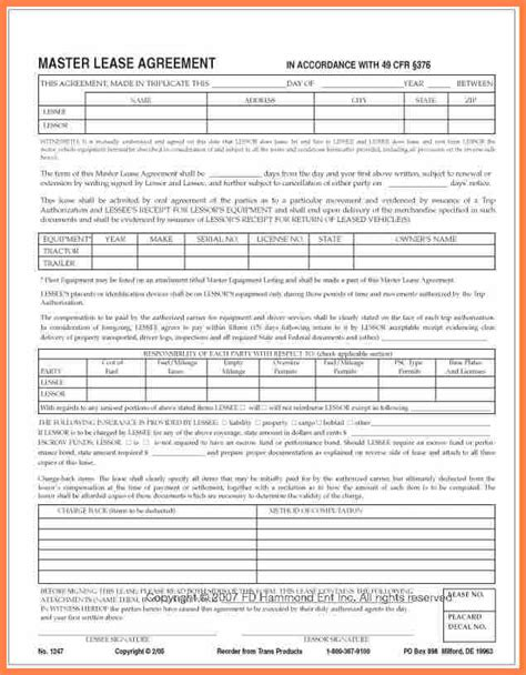 7 Owner Operator Lease Agreement Template Purchase Agreement Group Owner Operator Lease Agreement Template Free