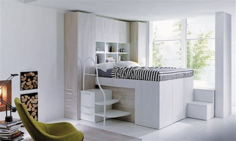 dielle container bed smart space saving bed hides a walk in closet underneath inhabitat green design innovation