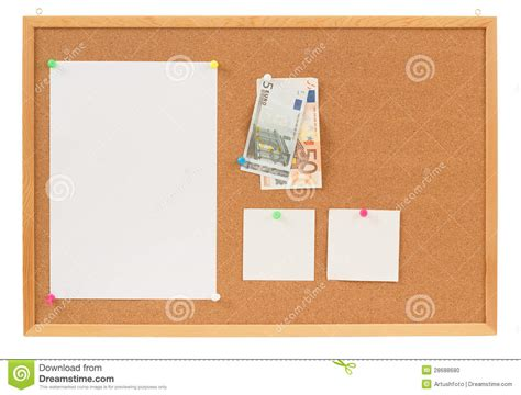 Memories Paper - memory note paper with moneys concept stock photo