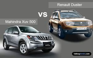 Daster India Busui comparison of mahindra xuv 500 vs renault duster