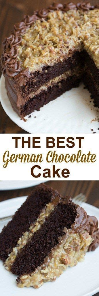 the best german chocolate cake german chocolate cake recipe dessert and snack recipes